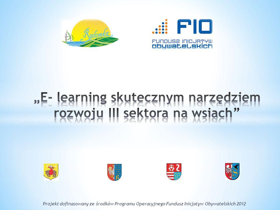 Projekt dofinasowany ze środków Programu Operacyjnego Fundusz Inicjatyw Obywatelskich 2012