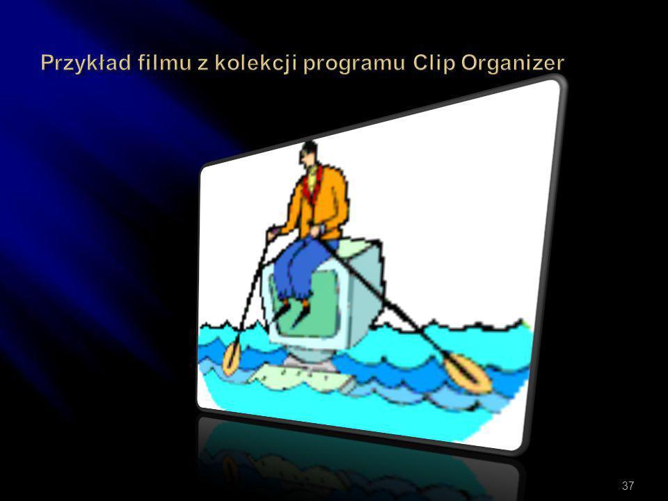  Wstawianie i odtwarzanie kipów wideo w formatach AVI MOV MPG Uruchamia się menu Wstaw- Filmy i dźwięk- Film z pliku.. 36