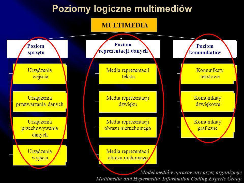 Multimedia (wg Hoffosa) to system, który integruje przetwarzanie danych numerycznych i audiowizualnych różnego typu. Multimedia (wg Newtona) są kombin