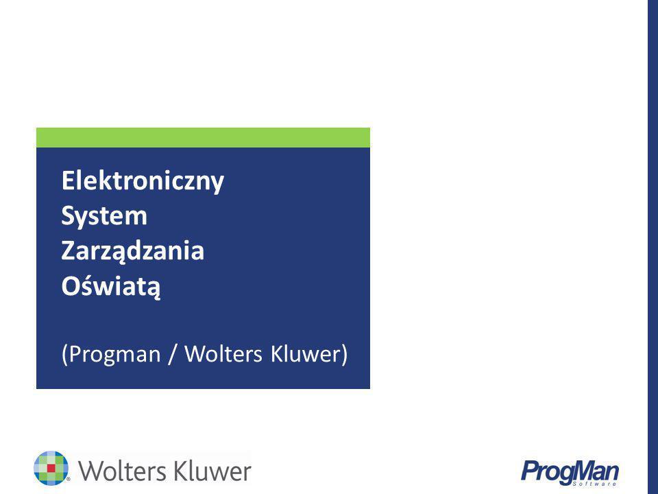 Elektroniczny System Zarządzania Oświatą (Progman / Wolters Kluwer)