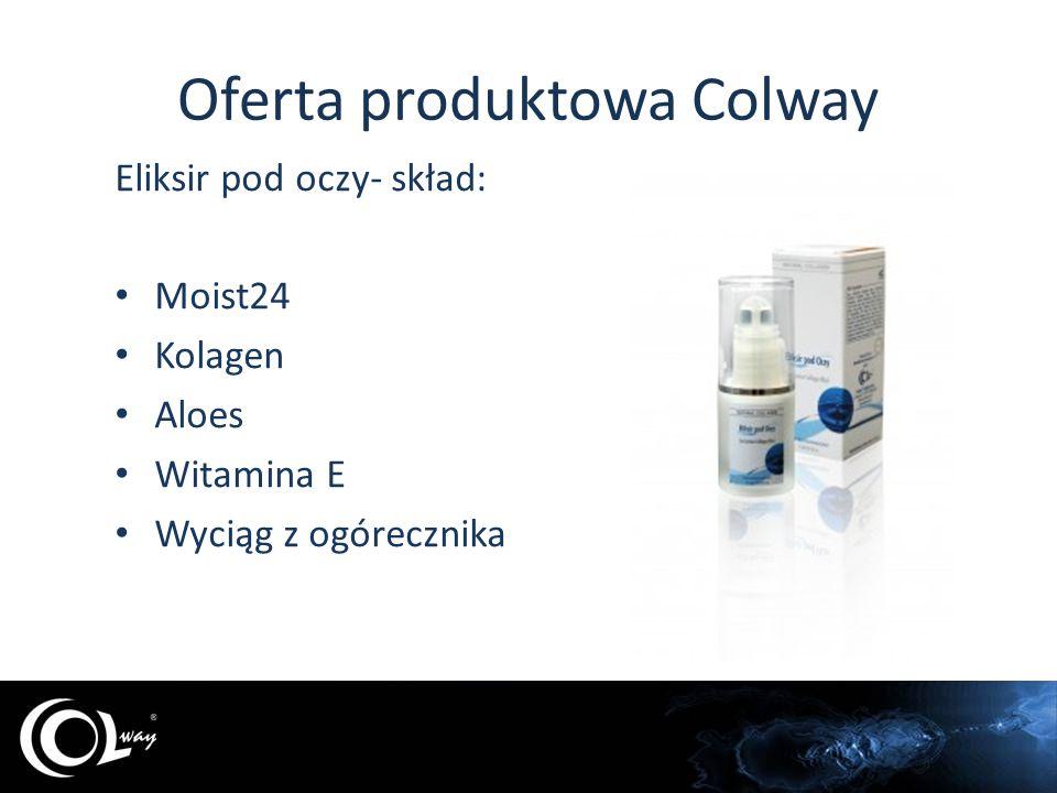 Oferta produktowa Colway Krem na noc - skład: Matrixyl Kolagen Aloes Noni Melisa