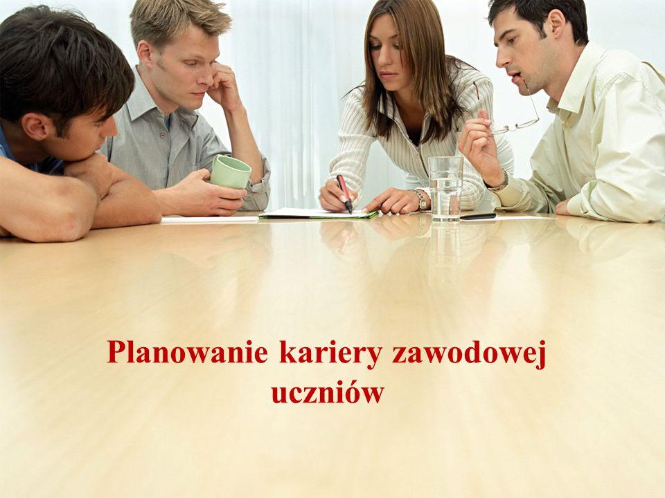 Planowanie kariery zawodowej uczniów