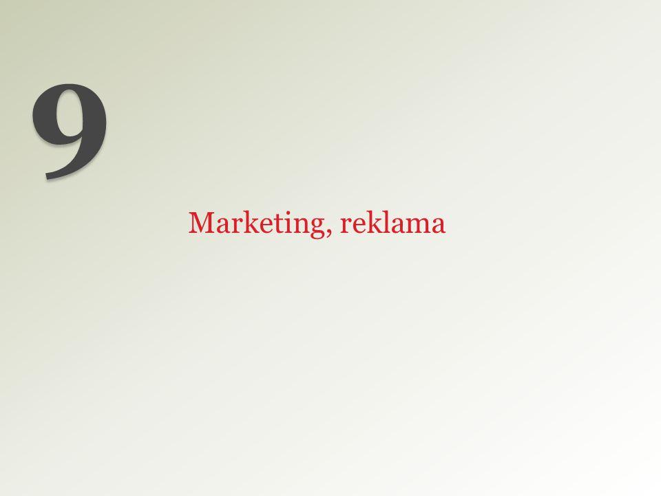Marketing, reklama 9
