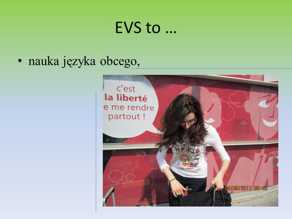 EVS to … nauka języka obcego,