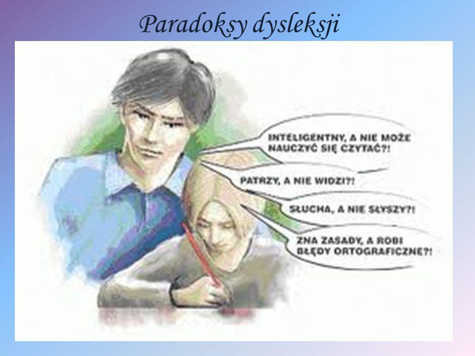 Jak pomóc dziecku z dysleksją.Cd.