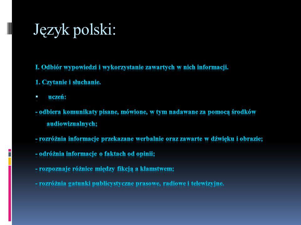 Język polski: