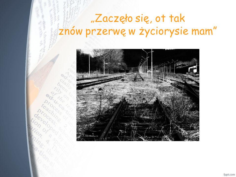 """""""Przegrywa co dzień Przegrywa co dzień Ja to wiem"""