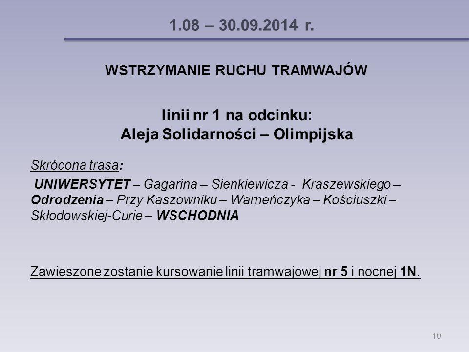1.08 – 30.09.2014 r.