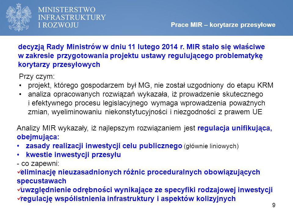 decyzją Rady Ministrów w dniu 11 lutego 2014 r.