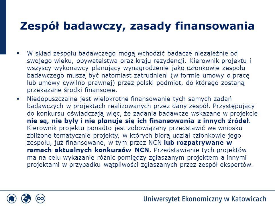 Zasady oceny wniosków c.d.