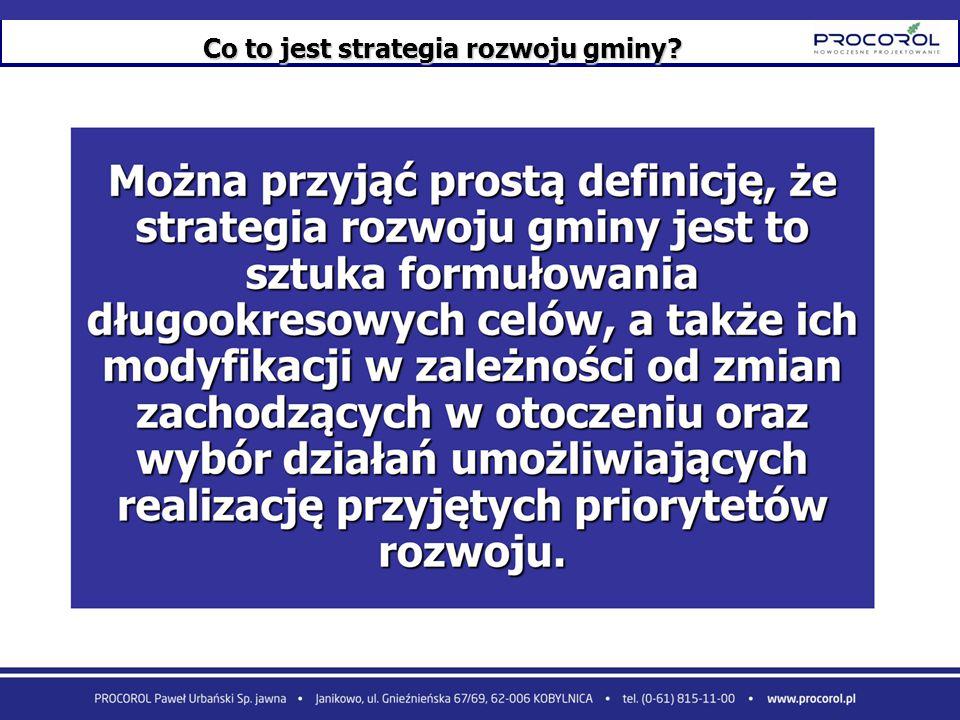 Co to jest strategia rozwoju gminy?