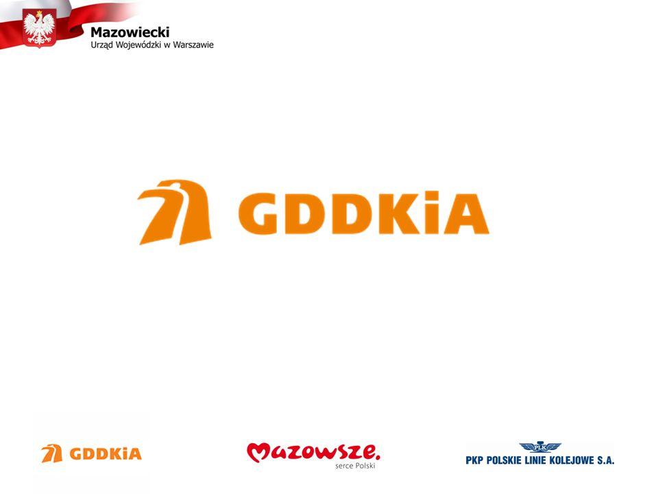 Województwo Mazowieckie, sieć drogowa GDDKiA o/Warszawa Sieć drogowa na 2014 rok - 2,3 tys.