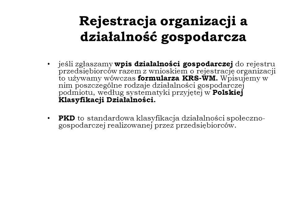 Opłaty za wpis w KRS od dnia 29 czerwca 2003 r.
