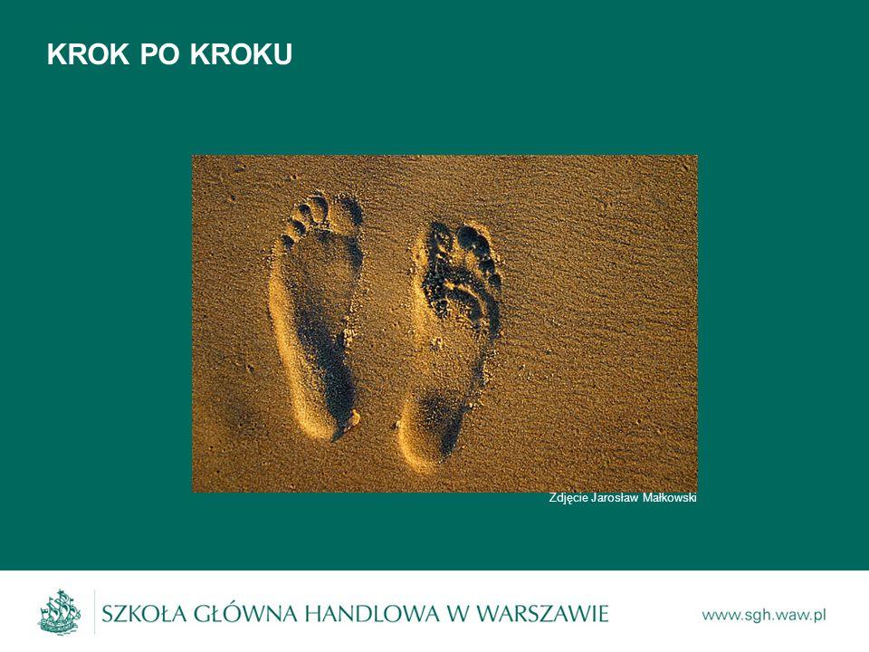 KROK PO KROKU Zdjęcie Jarosław Małkowski