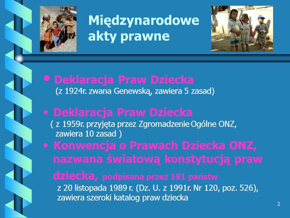 3 Prawo polskie Konstytucja Rzeczypospolitej Polskiej ( Dz.