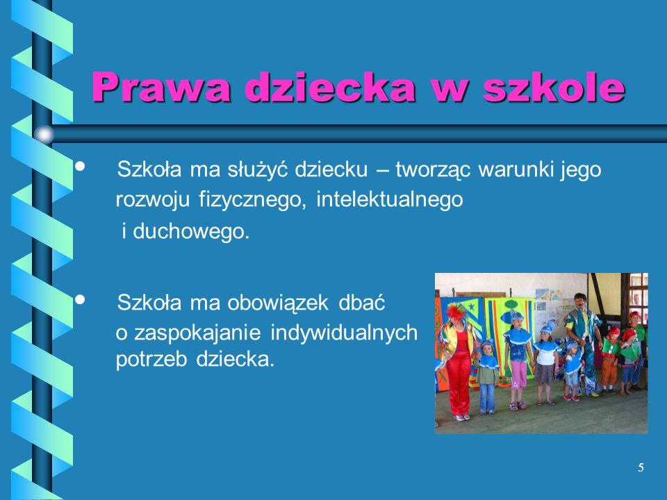 36 Za nieprzestrzeganie obowiązków, lekceważenie nauki, naruszanie porządku szkolnego, naganne zachowanie się w środkach komunikacji miejskiej….