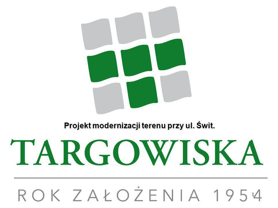 1 Projekt modernizacji terenu przy ul. Świt.