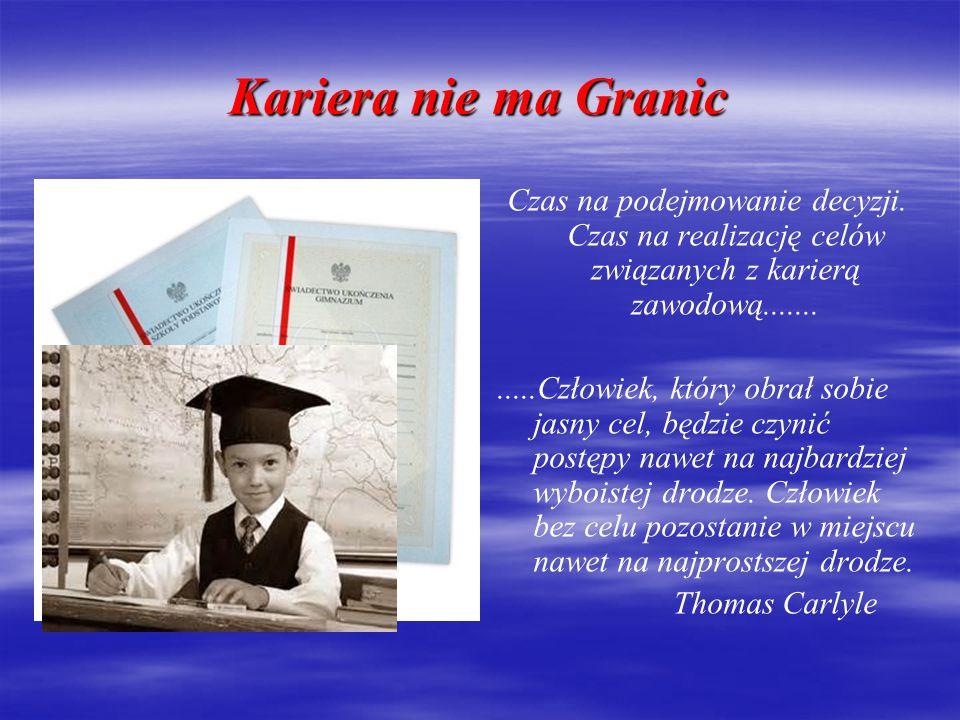 Kariera bez Granic Projekt współfinansowany ze środków Europejskiego Funduszu Rozwoju Regionalnego w ramach Programu Operacyjnego Współpracy Transgranicznej Polska – Saksonia 2007-2013
