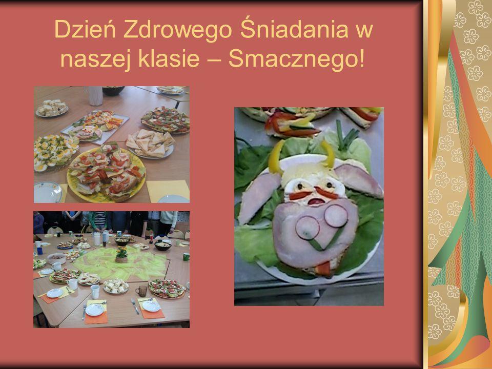 Dzień Zdrowego Śniadania w naszej klasie – Smacznego!