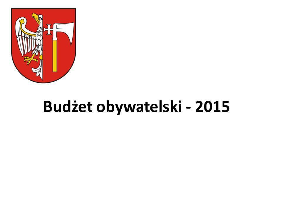 Budżet obywatelski na rok 2015 UCHWAŁA NR 717/ 2014 ZARZĄDU POWIATU WĄGROWIECKIEGO z dnia 21 sierpnia 2014 roku w sprawie wydatków finansowych z wydzielonej części budżetu Powiatu Wągrowieckiego na 2015 rok, zwaną kwotą budżetu obywatelskiego.