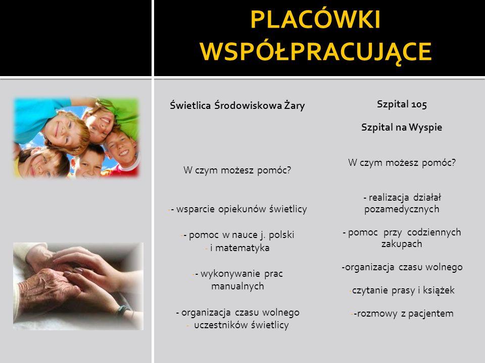 Świetlica Środowiskowa Żary W czym możesz pomóc? - - wsparcie opiekunów świetlicy - - pomoc w nauce j. polski - i matematyka - - wykonywanie prac manu