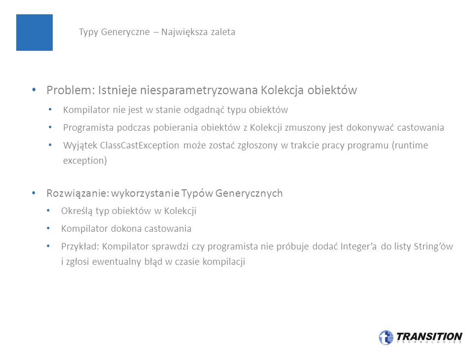 Kolekcje – Interfejsy Set SortedSet Iterable Collection NavigableSet Queue List Deque Map SortedMap NavigableMap