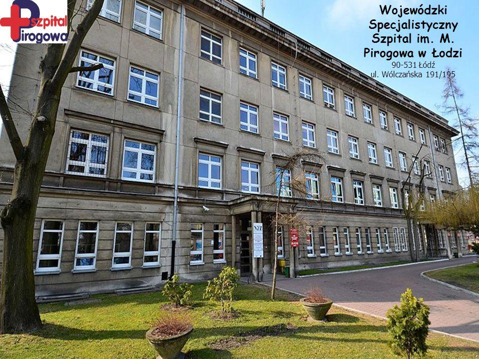 Mgr Ewelina Pitrus Wojewódzki Specjalistyczny Szpital im M.