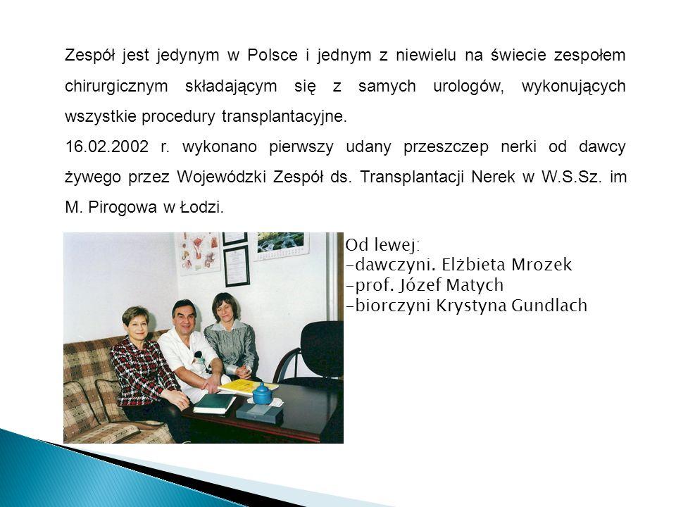 Zespół jest jedynym w Polsce i jednym z niewielu na świecie zespołem chirurgicznym składającym się z samych urologów, wykonujących wszystkie procedury