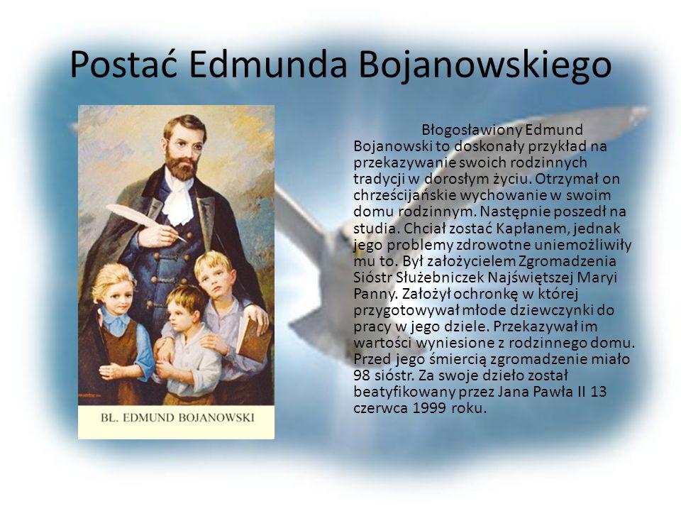 Postać Jana Pawła II Nasz papież, Jan Paweł II jest doskonałym przykładem jak wartości rodzinne wpływają na późniejsze życie. Odebrał on w swojej rodz
