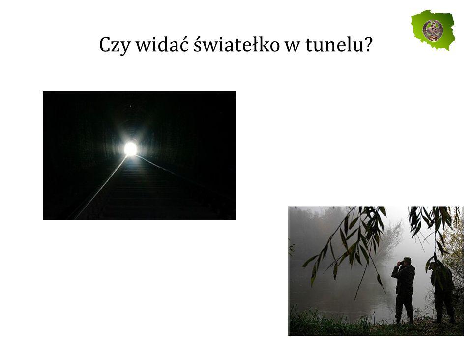 Czy widać światełko w tunelu?