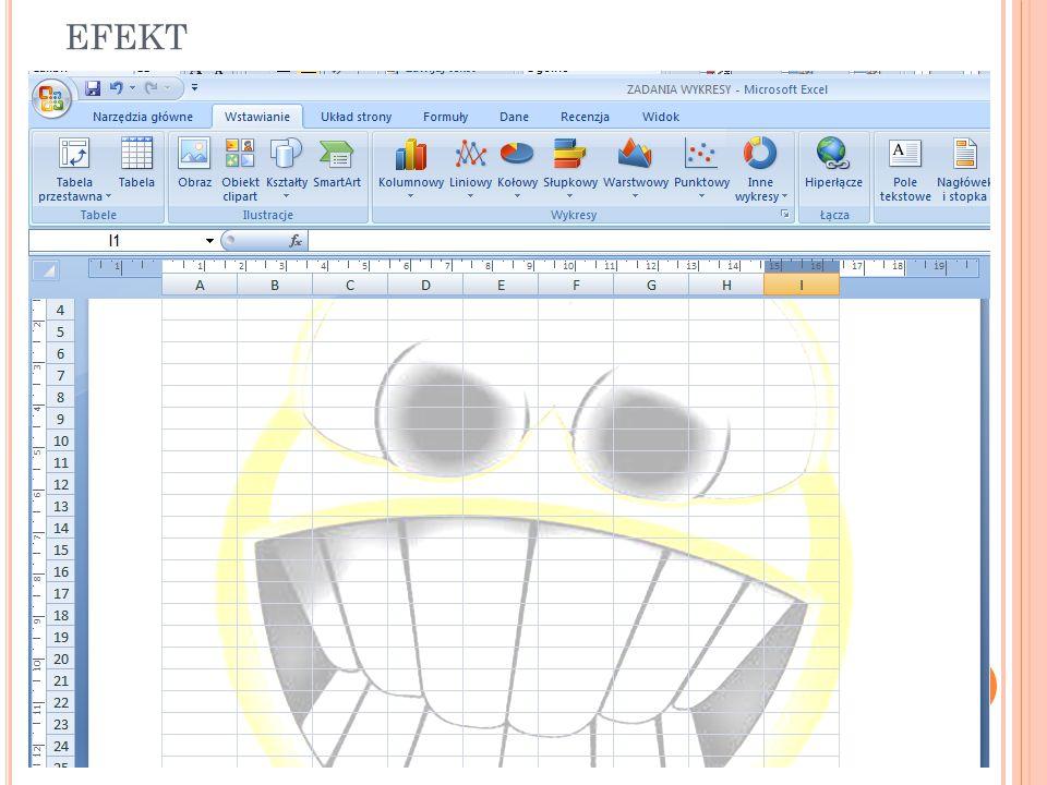 Z APISYWANIE SKOROSZYTU PROGRAMU E XCEL W INNYM FORMACIE PLIKU W programie Excel otwórz skoroszyt, który chcesz zapisać do użytku w innym programie.