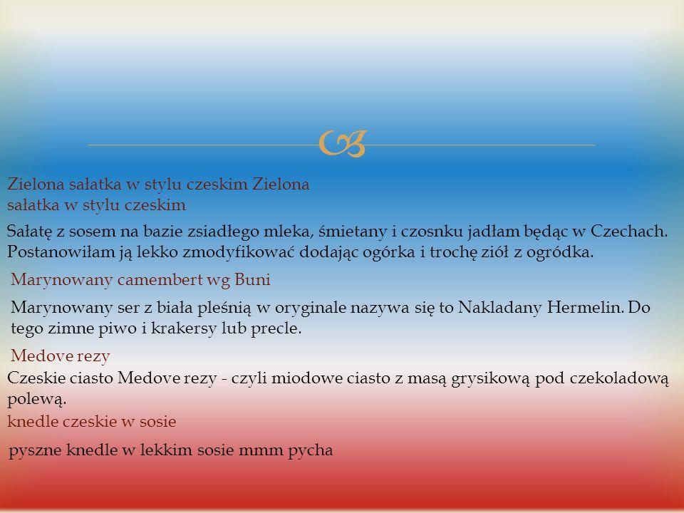  Dania czeskie Czeski gulasz piwny z zasmażaną kapustą Czeski gulasz piwny z zasmażaną kapustą(0) 27 sie 2014 22:19 Gulasz, Kuchnia czeska kloruś - P