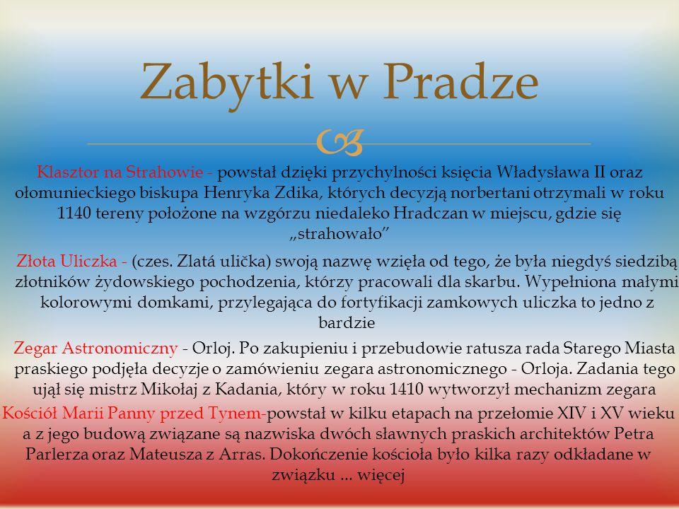  Historia nazwy Czech Nazwa Czechy (czes. Čechy) pojawia się po raz pierwszy w źródłach pisanych w IX wieku. W 1777 roku pojawia się młodsza nazwa Če