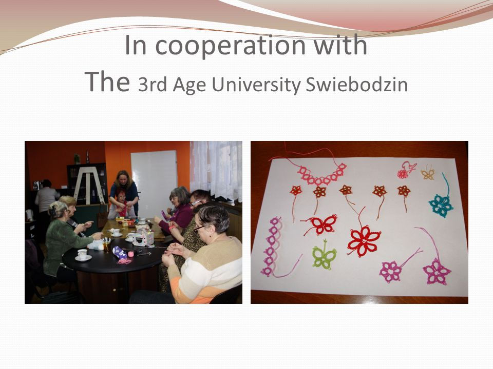 Frivolits workshop Cultural Centre Swiebodzin