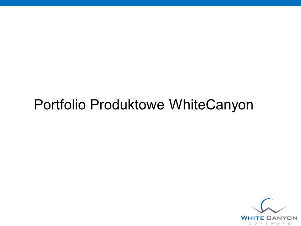 Portfolio Produktowe WhiteCanyon