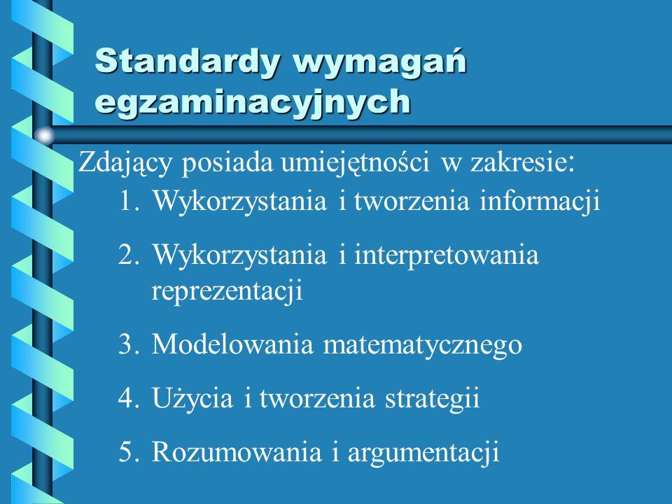 II grupa: 5-10 zadań otwartych krótkiej odpowiedzi, punktowanych w skali 0-2 III grupa: 3-5 zadań otwartych rozszerzonej odpowiedzi, punktowanych w skali 0-4, 0-5 lub 0-6.