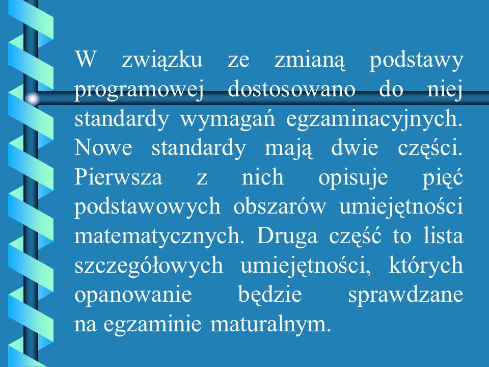 W maju 2010 roku w całej Polsce po raz pierwszy zostanie przeprowadzony obowiązkowy egzamin maturalny z matematyki. Wszyscy absolwenci, którzy do nieg