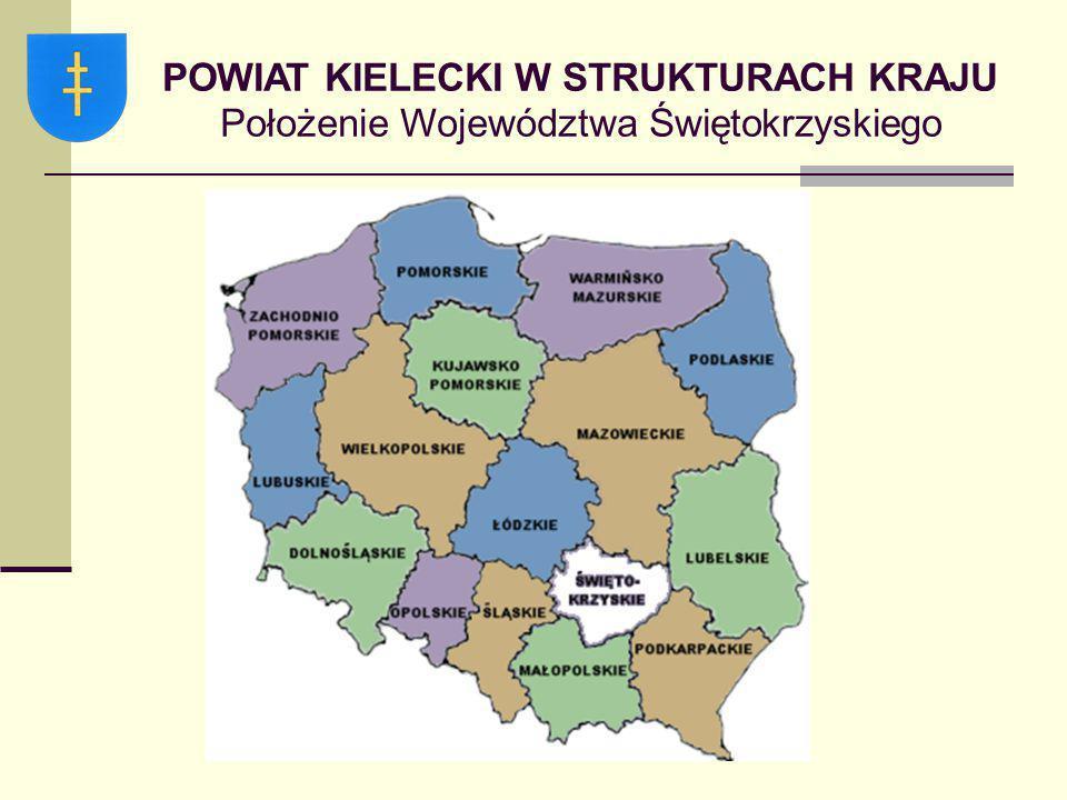POWIAT KIELECKI Budżet – dochody powiatu  Subwencje ogólne – stanowią formę zasilania finansowego z budżetu państwa jednostek samorządu terytorialnego i są formą wyrównania niewystarczających dochodów własnych powiatu.