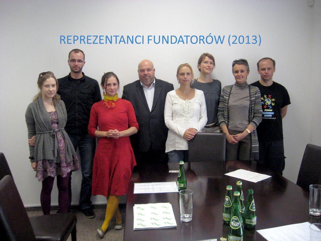 WWW.SZKOLY.FAIRTRADE.ORG.PL REPREZENTANCI FUNDATORÓW (2013)