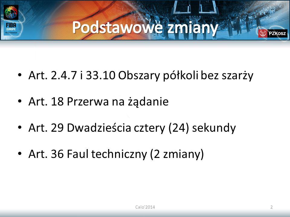"""Calo 201423 B.8.3.2Faul techniczny zawodnika zaznacza się """"T ."""