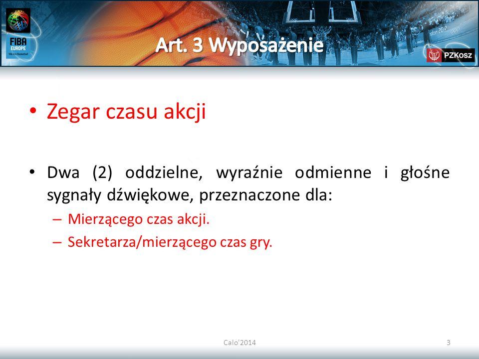 Calo 201424 38.2.4 Liczba przyznanych rzutów wolnych powinna być następująca: Jeżeli faul nie jest związany z kontaktem osobistym: dwa (2) rzuty wolne.