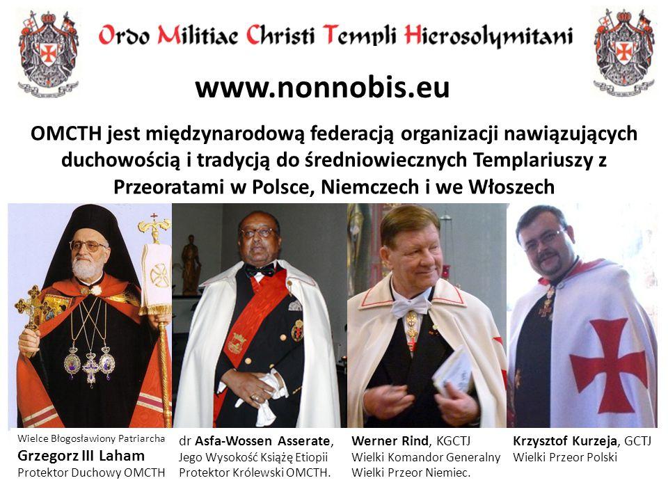 Werner Rind, KGCTJ Wielki Komandor Generalny Wielki Przeor Niemiec. dr Asfa-Wossen Asserate, Jego Wysokość Książę Etiopii Protektor Królewski OMCTH. K