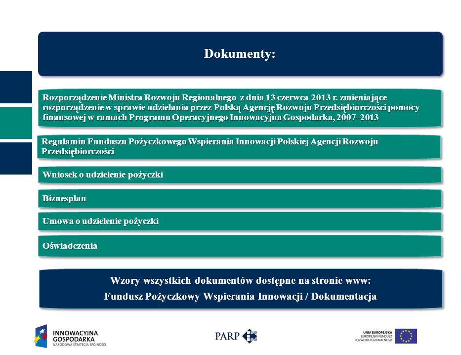 Rozporządzenie Ministra Rozwoju Regionalnego z dnia 13 czerwca 2013 r. zmieniające rozporządzenie w sprawie udzielania przez Polską Agencję Rozwoju Pr