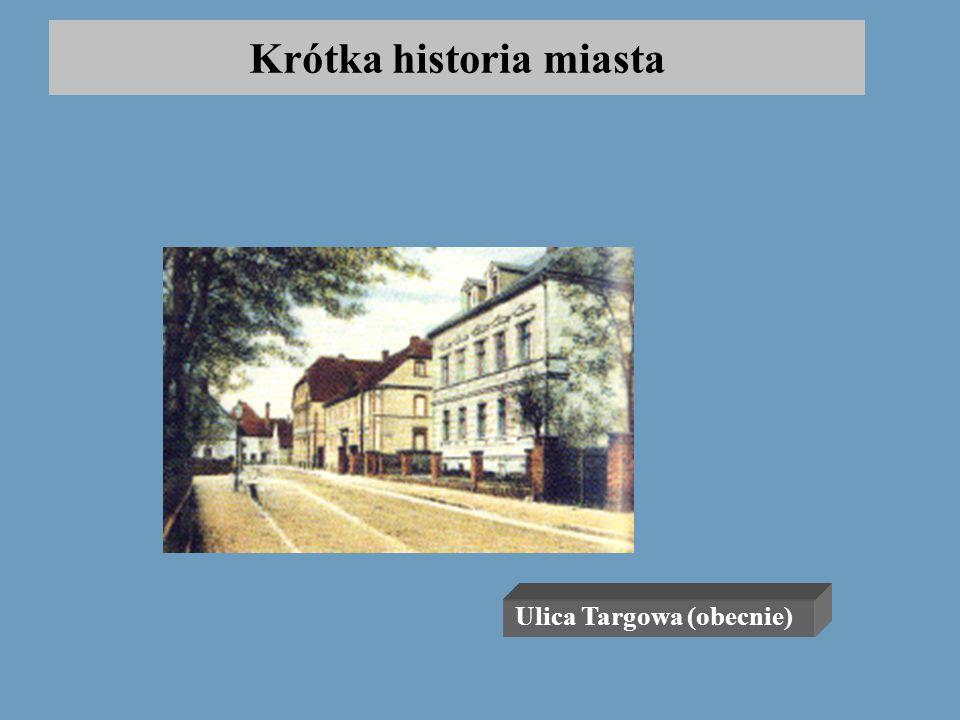 Krótka historia miasta II wojna światowa spowodowała niemal doszczętne zniszczenie i wyludnienie miasta. Ponownie prawa miejskie odzyskały Polkowice w