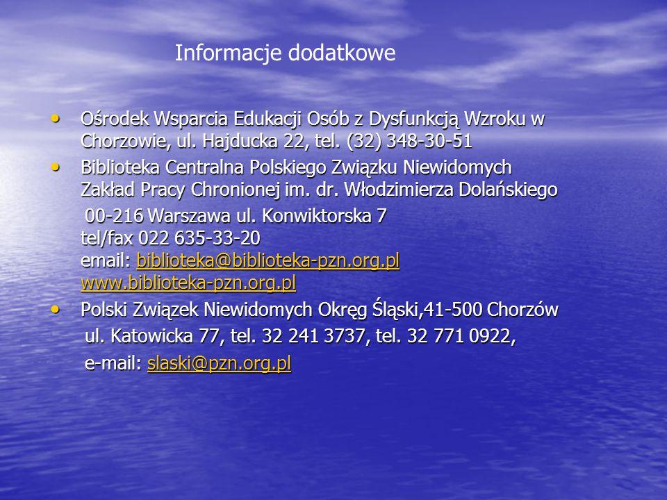 Koła w poszczególnych miastach Koła w poszczególnych miastach Koło PZN w Rudzie Śląskiej: 41-709 Ruda Śląska Koło PZN w Rudzie Śląskiej: 41-709 Ruda Śląska ul.