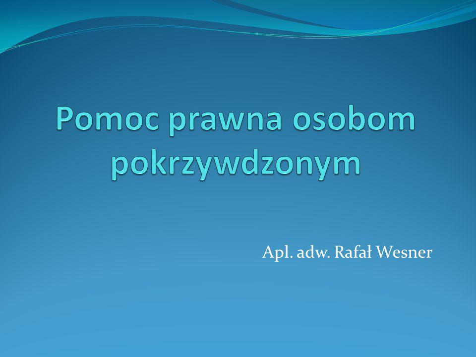 Apl. adw. Rafał Wesner