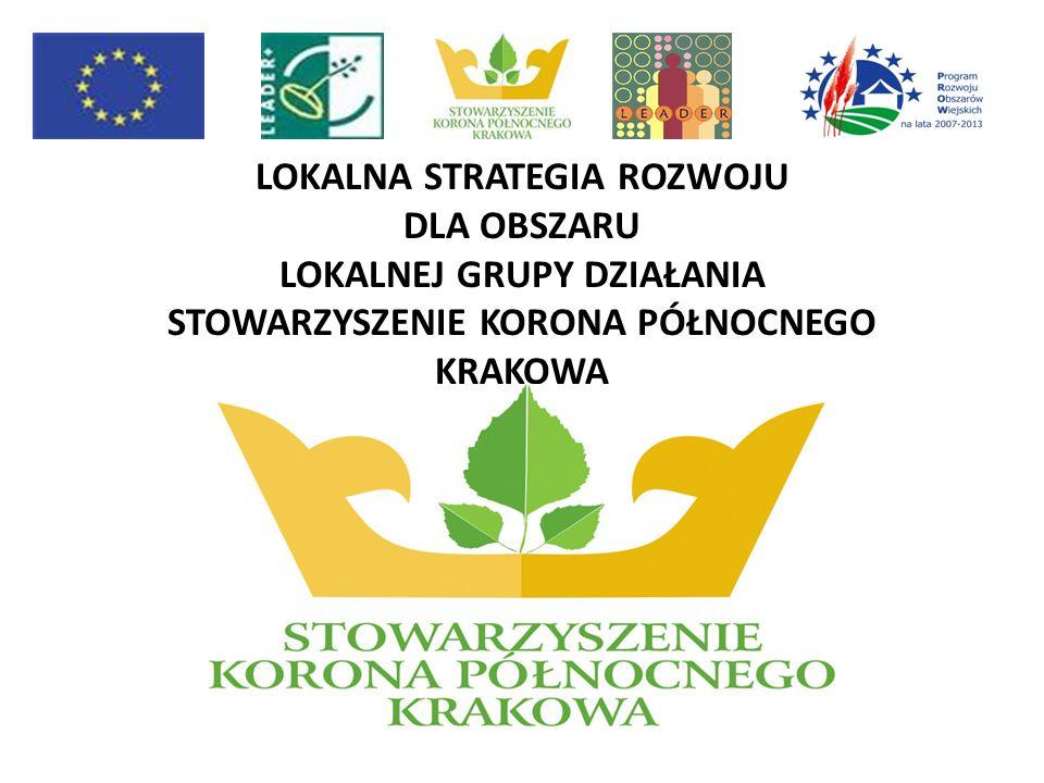 Lokalna Strategia Rozwoju jest dokumentem, który powstał na bazie konsultacji społecznych prowadzonych wśród społeczności lokalnych gmin leżących na obszarze działania Stowarzyszenia Korona Północnego Krakowa.