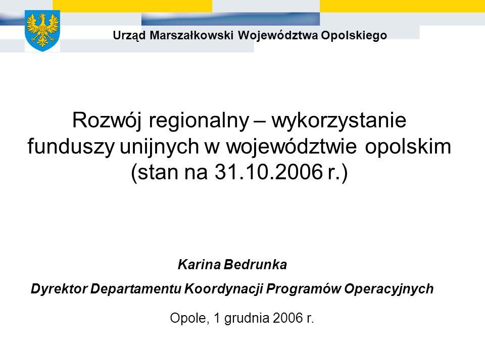 Opole, 1 grudnia 2006 r.