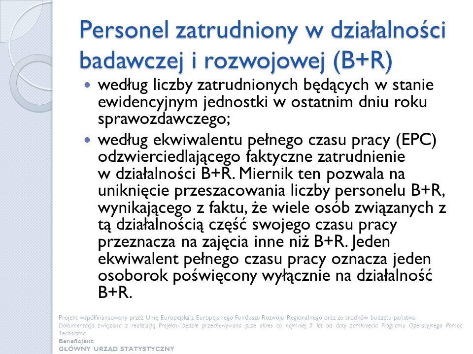 Zmiana sposobu opracowywania danych na poziomie regionalnym Zgodnie z Rozporządzeniem Wykonawczym Komisji (UE) nr 995/2012 z dnia 26 października 2012 r.