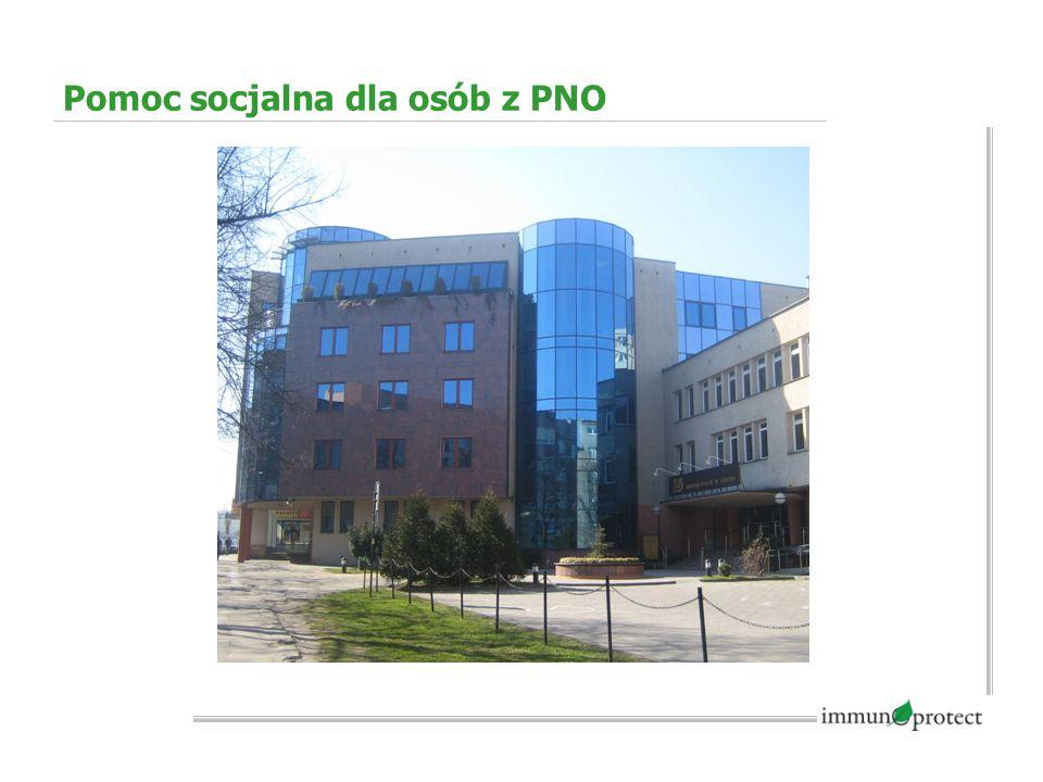 Pomoc socjalna dla osób z PNO